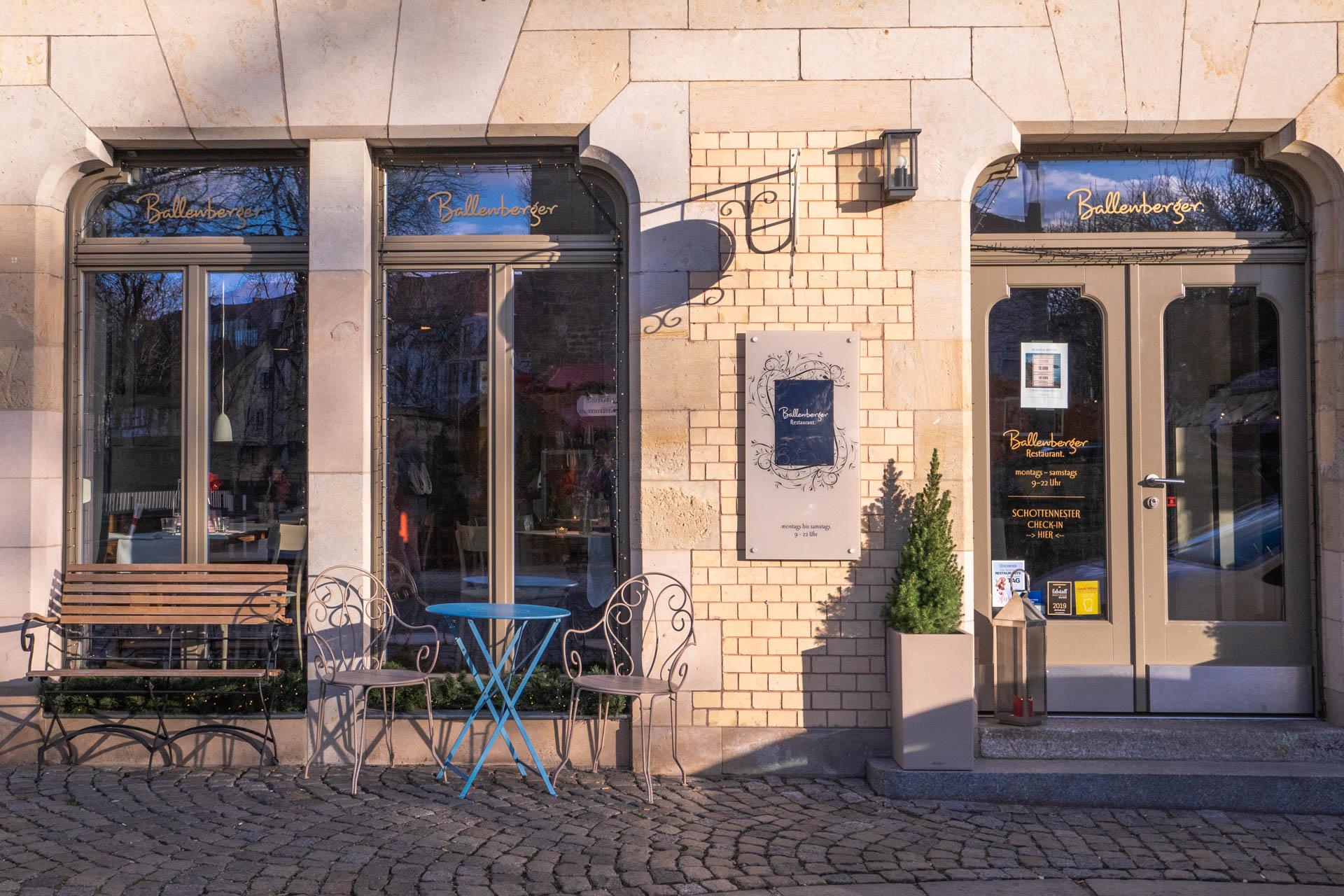 Ballenberger Restaurant Erfurt