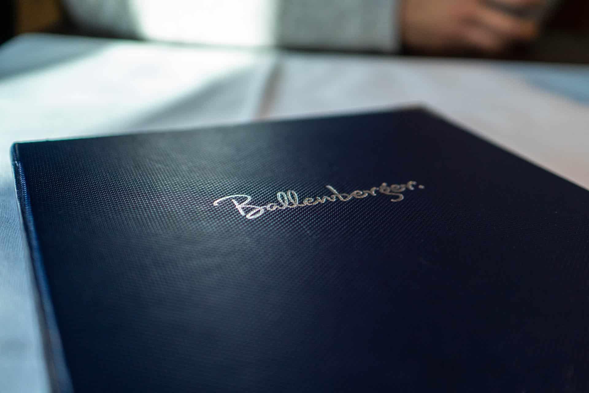 Speisekarte Ballenberger Erfurt