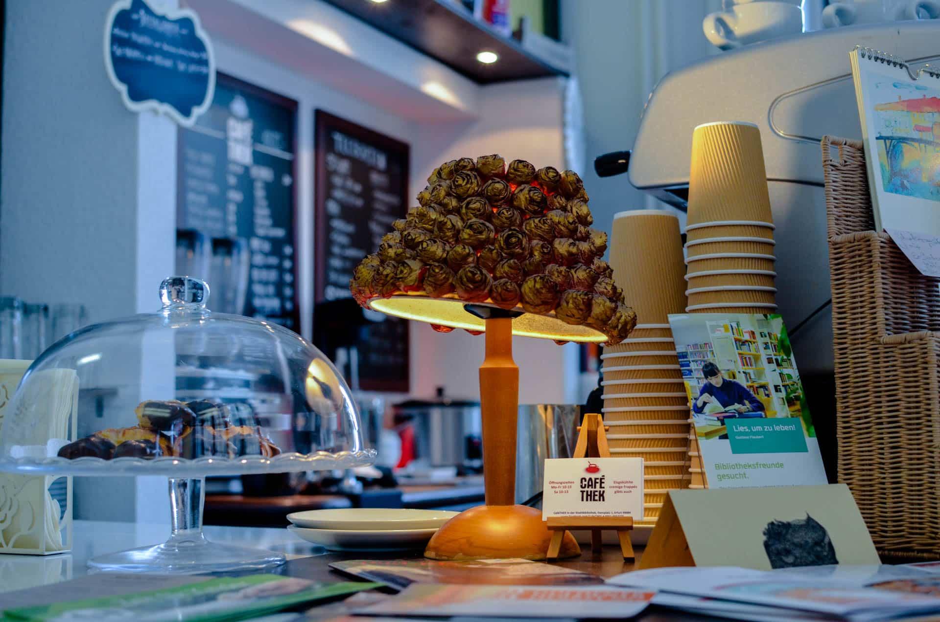 Café in Bibliothek Erfurt