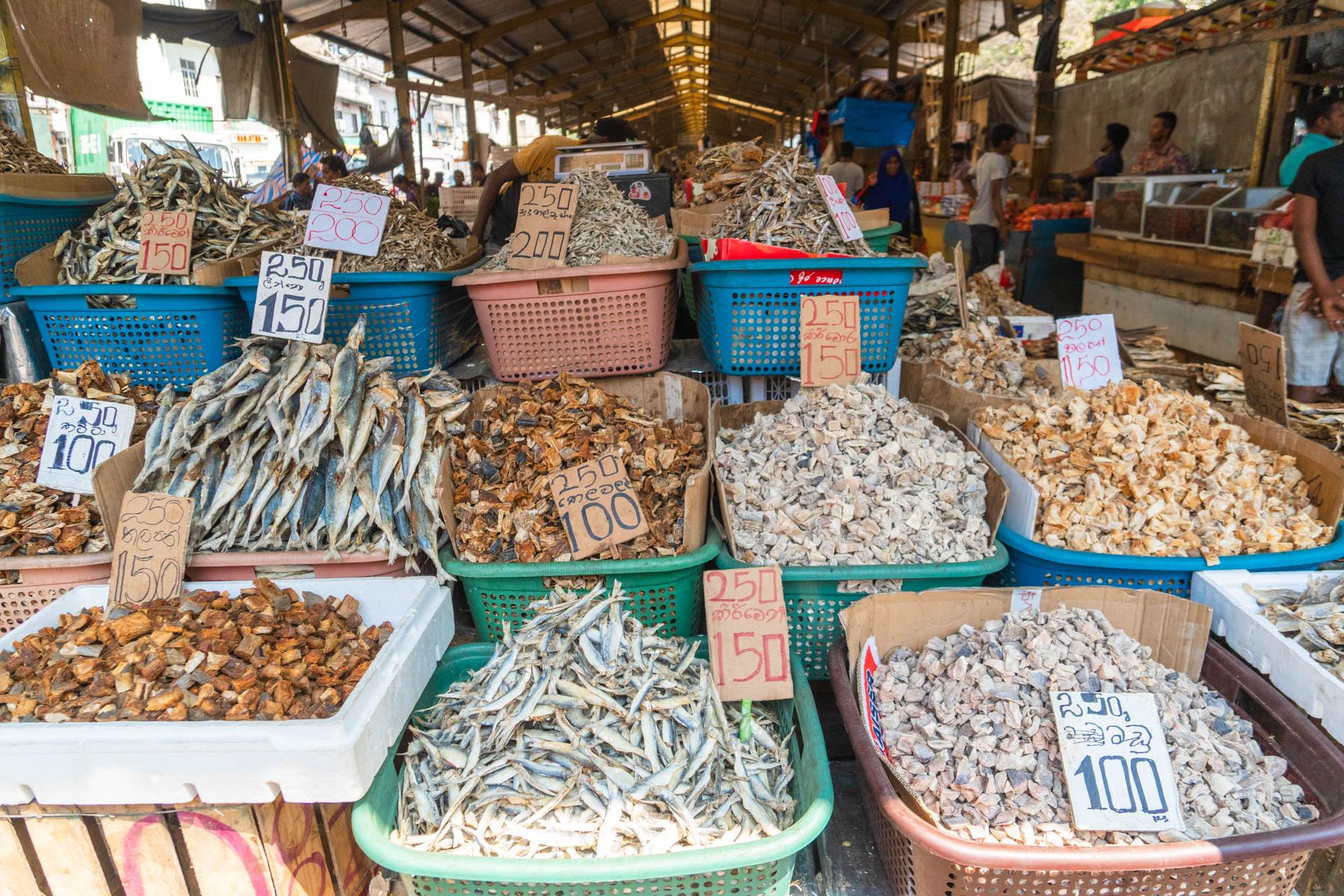 Trockenfisch Sri Lanka