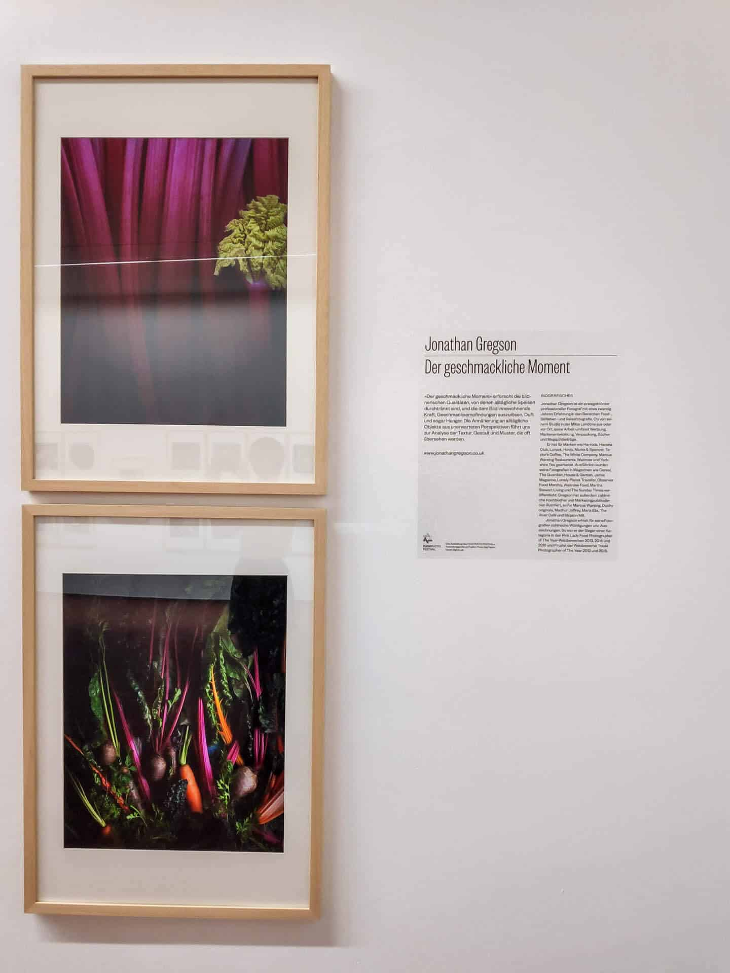 Food-Fotografie Ausstellung