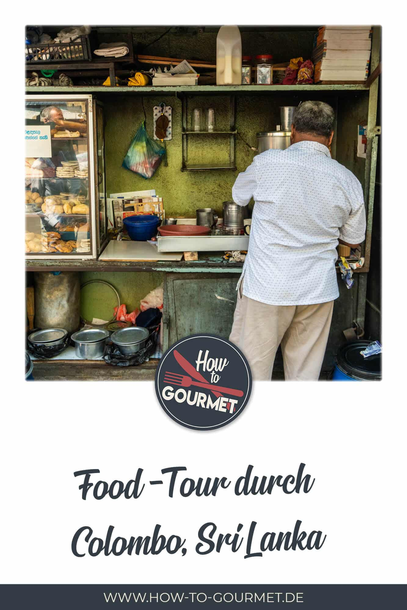 Food Tourd durch Sri Lankas Hauptstadt Colombo