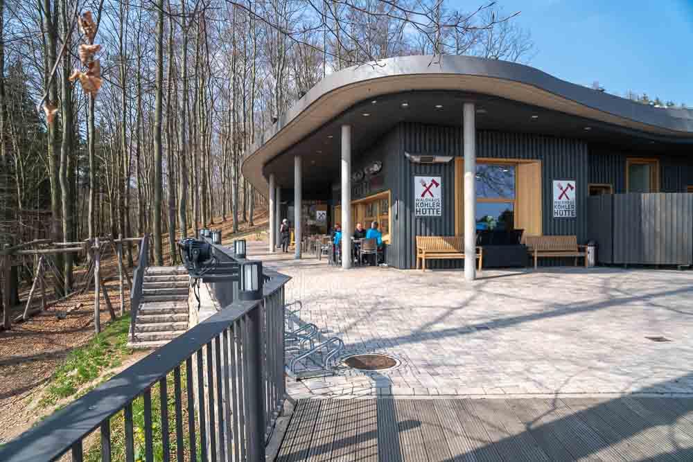 Restaurant mit Spielplatz in Waltershausen