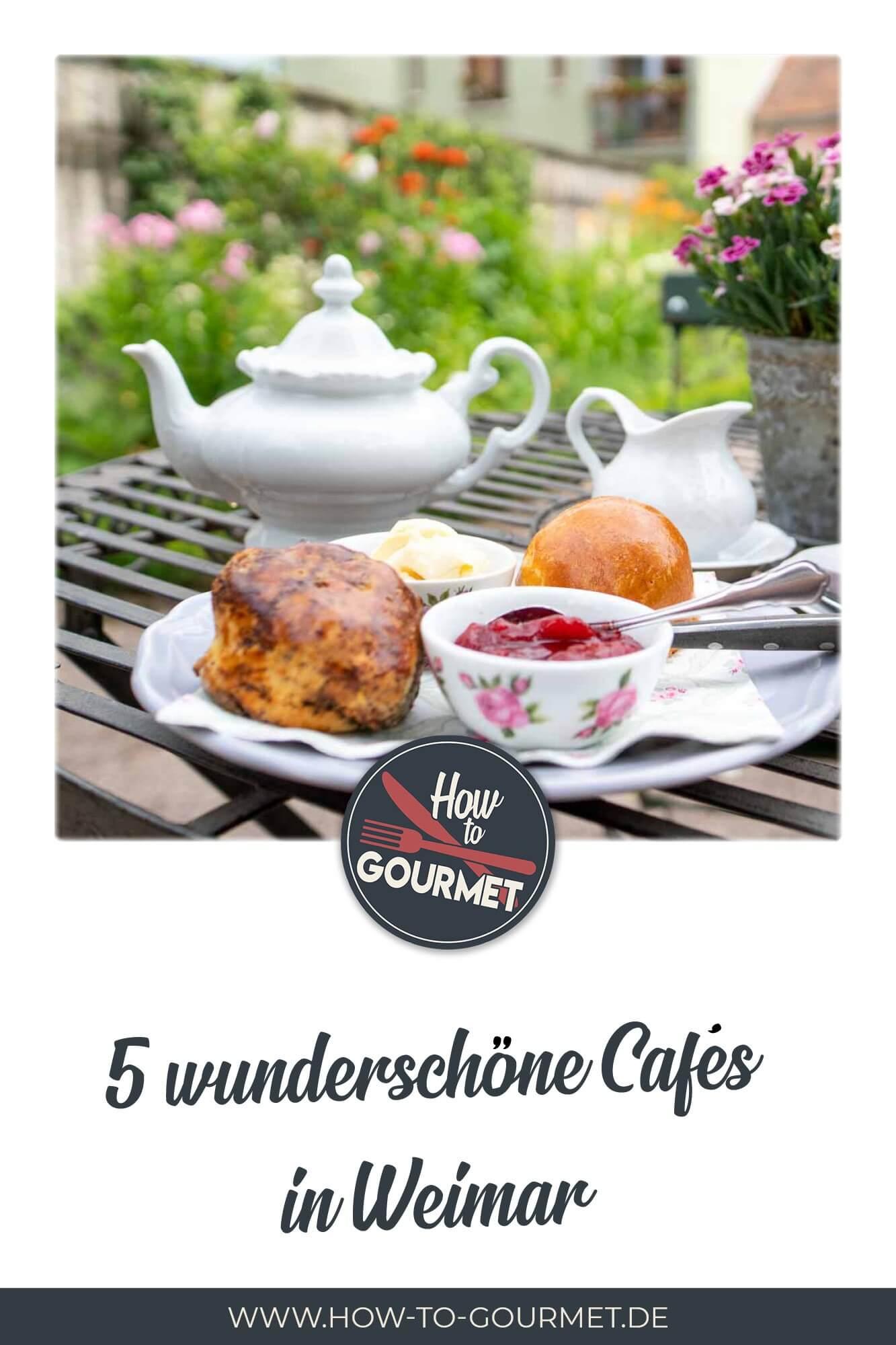 schöne Cafés in Weimar