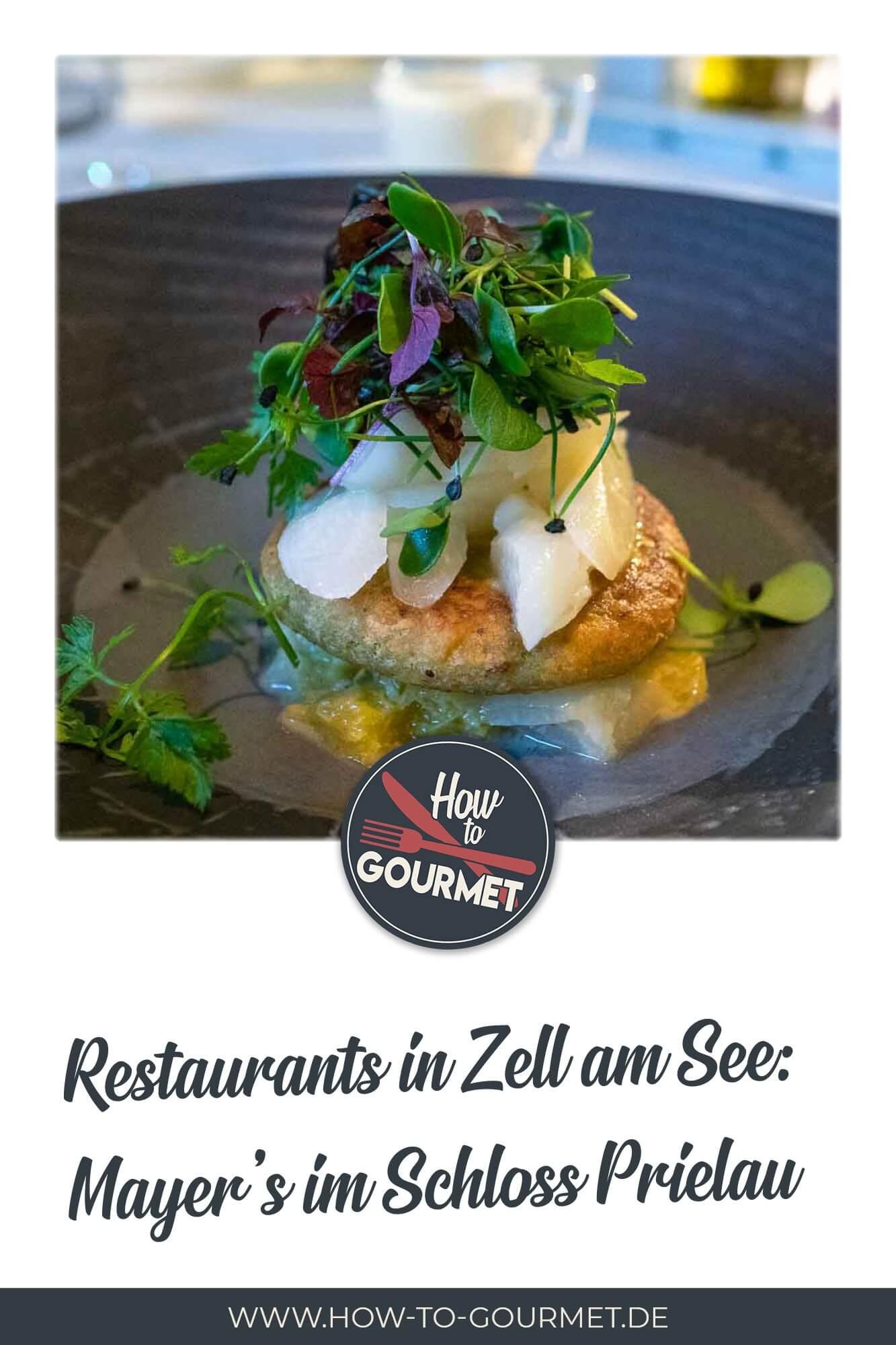 Mayers Restaurant Schloss Pielau Zell am See