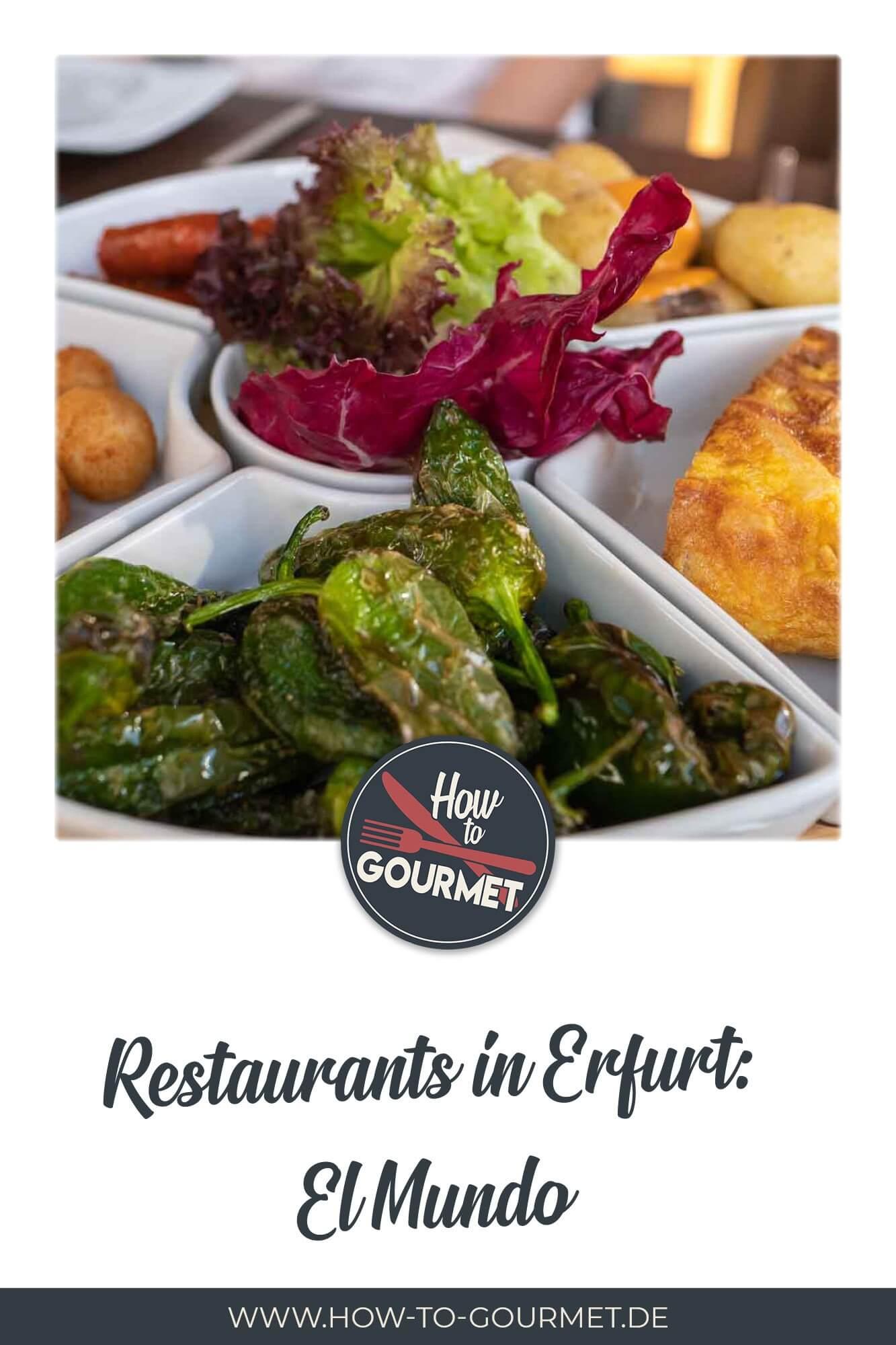 Neues Restaurant El Mundo am Fischmarkt Erfurt