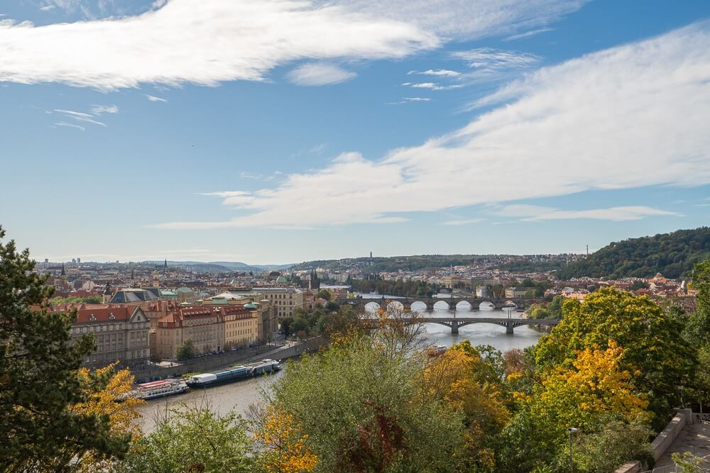 Aussichtspunkt Prag