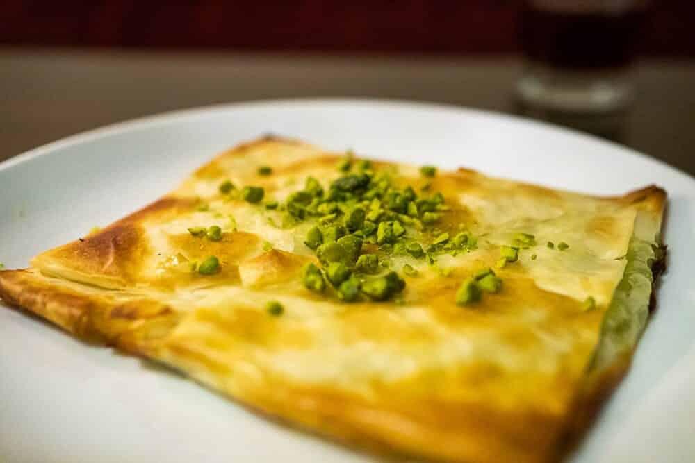 türkisches Dessert