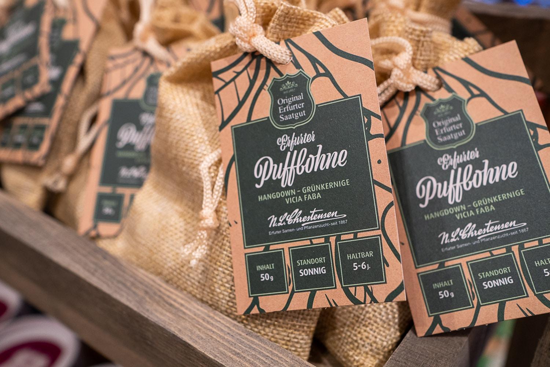 Geschenk für Gärtner Samen Puffbohne