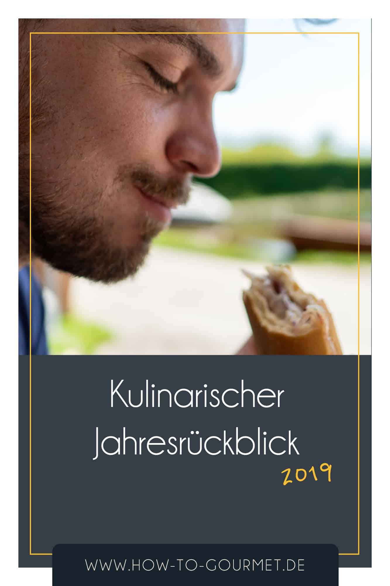 kulinarischer Jahresrückblick 2019