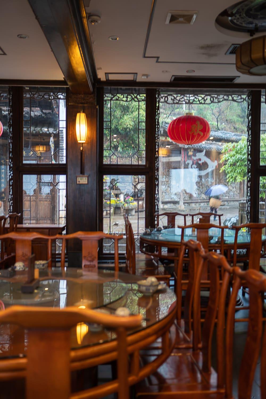 chinesisches Restaurant von innen