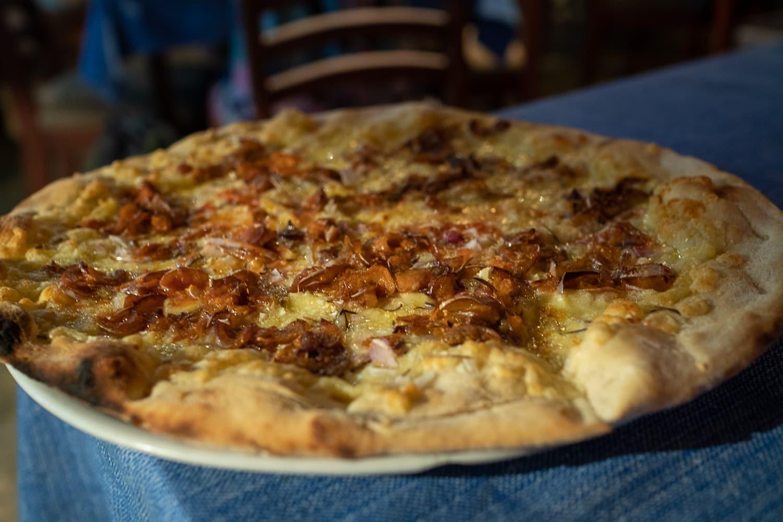 Pizza in Hikkaduwa
