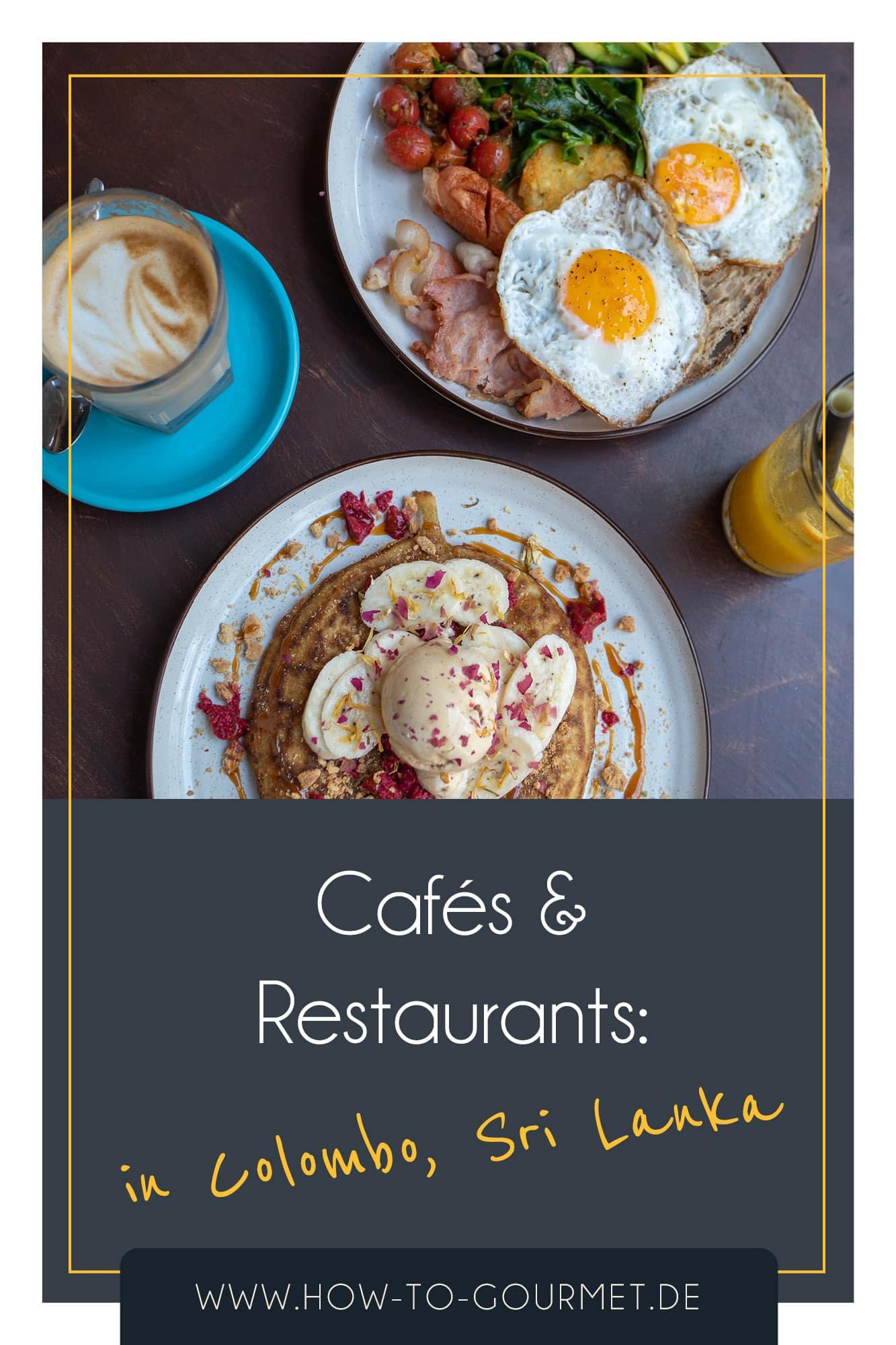 colombo cafes und restaurants
