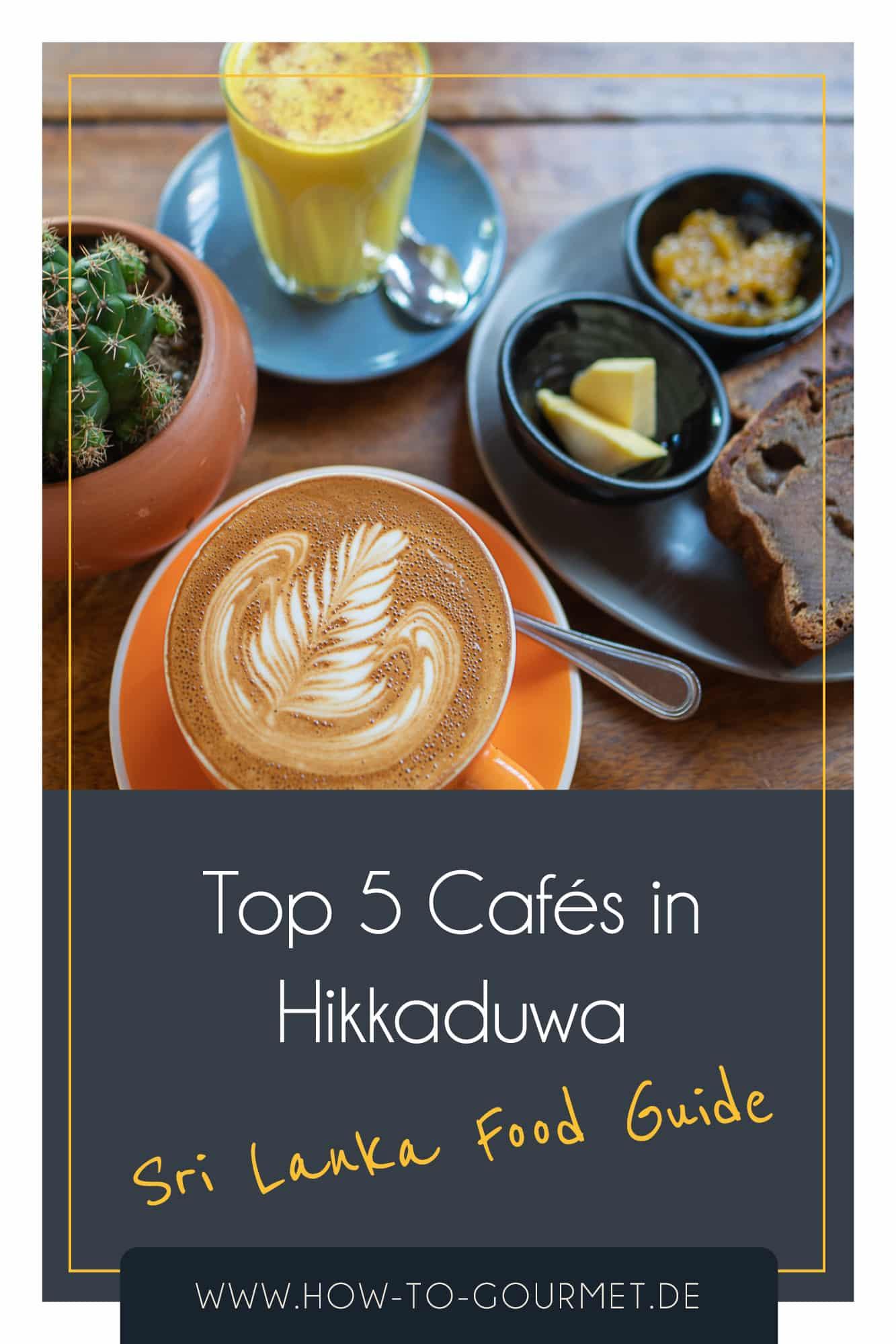 top 5 cafes hikkaduwa