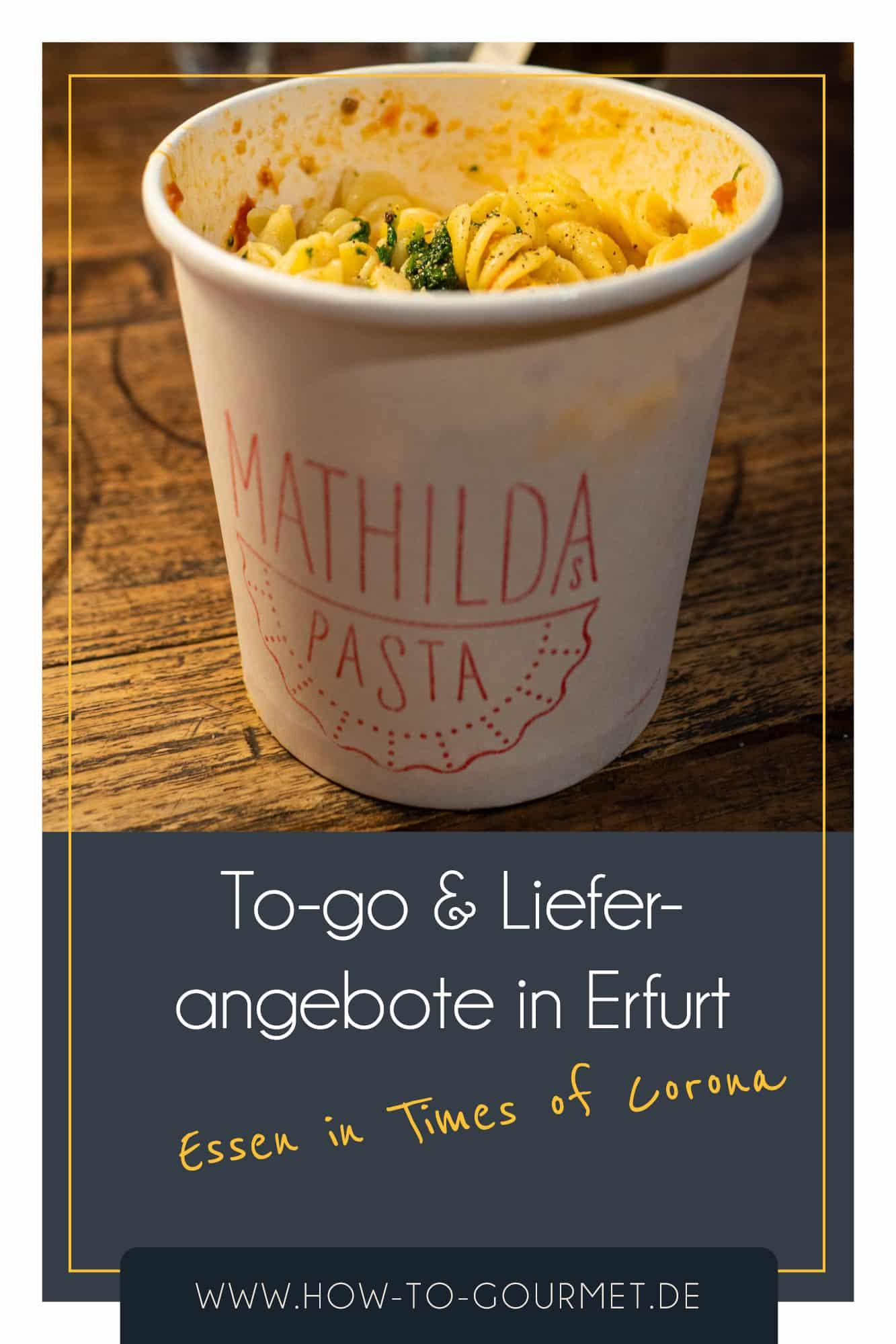 Restaurants während Corona Erfurt