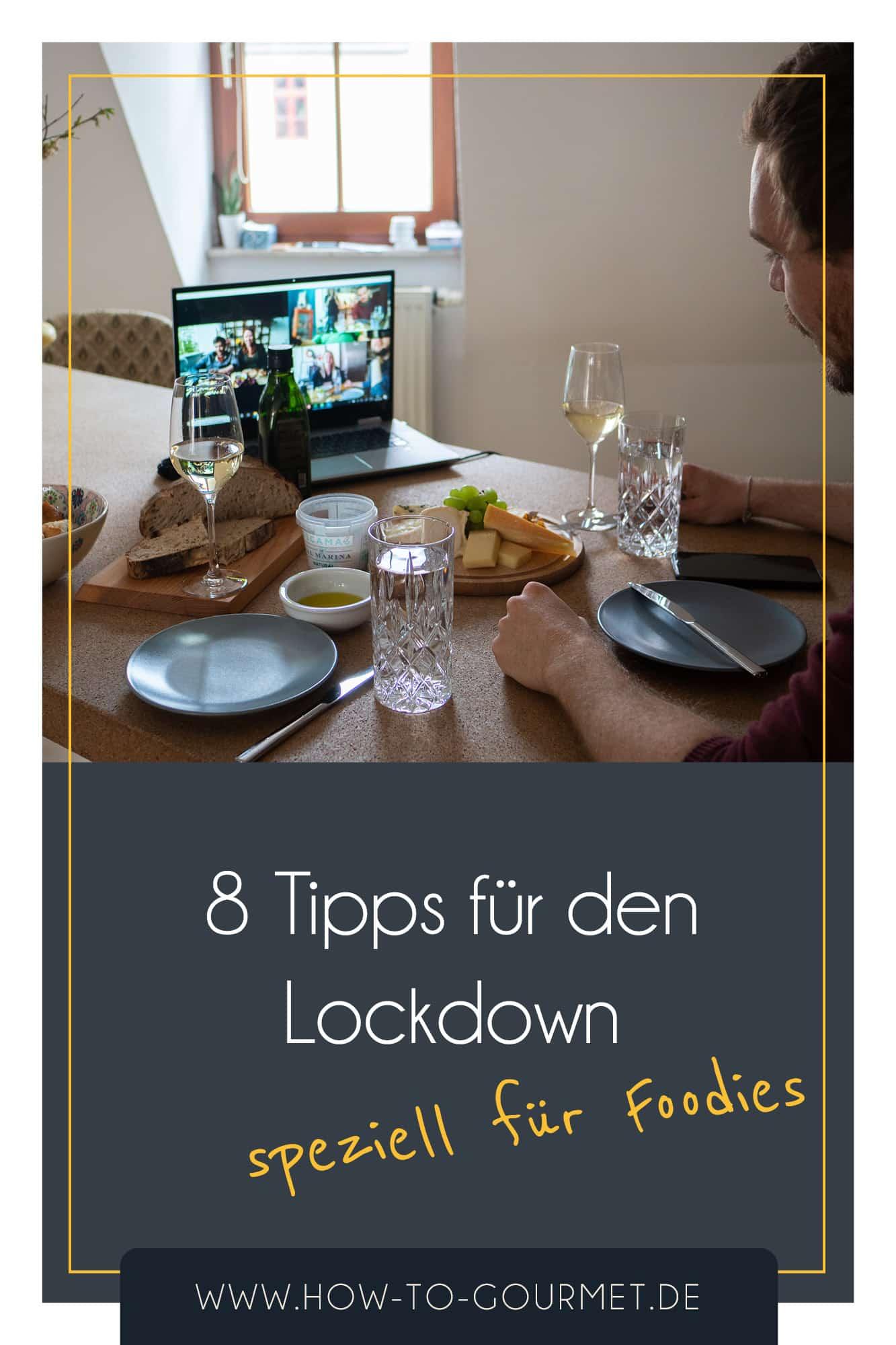Tipps für Foodies Social Distancing