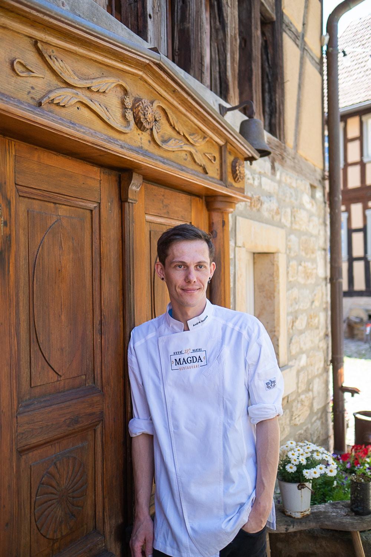 André Radke vom Restaurant Magda