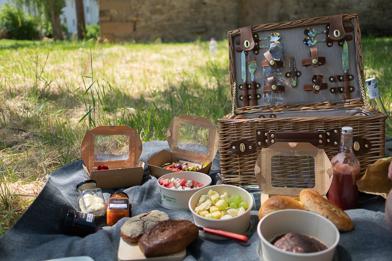 Picknickkorb aus dem Magda Erfurt