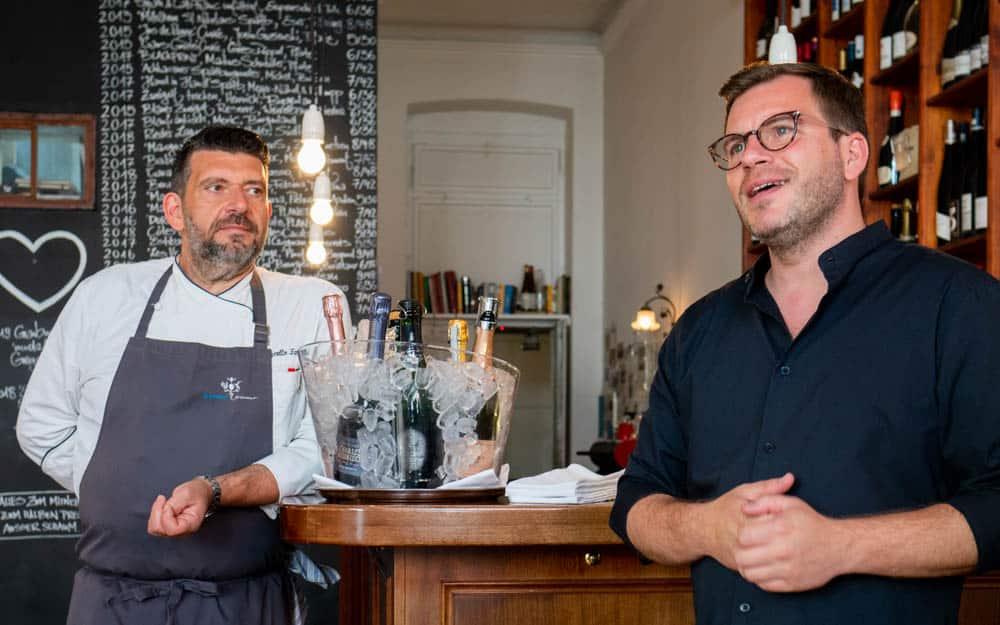 Philipp Heine und Marcello Fabbri
