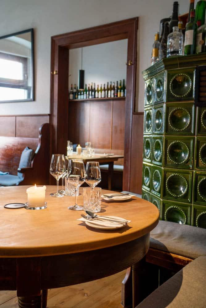 Ambiente in der Weinbar Weimar