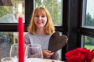 Romantisches Dinner im Thüringer Wald