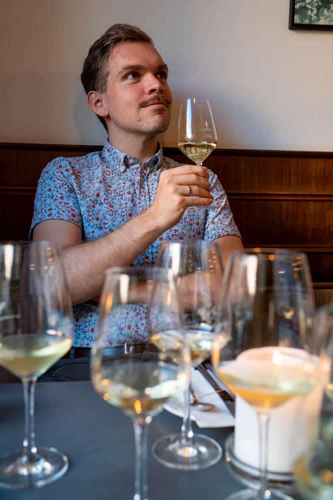 Wein trinken in Weimar