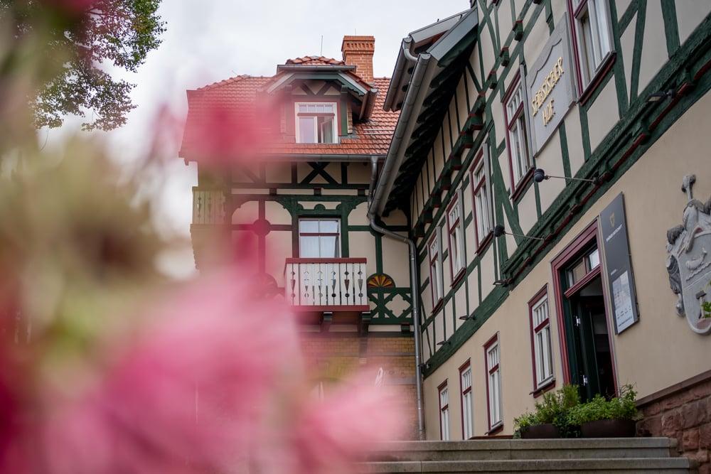 Das Hotel Sächsischer Hof in Dermbach