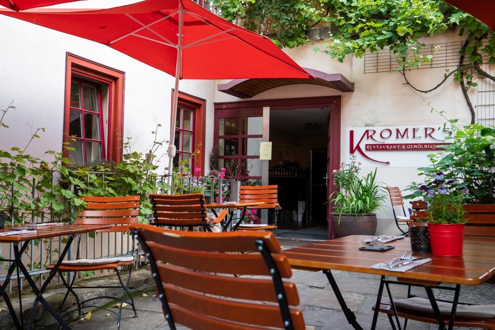 Biergarten Restaurant Kromers Erfurt