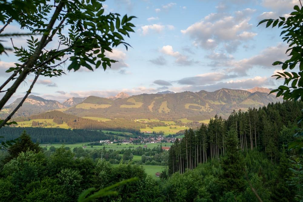 Aussicht Alpenhotel Dora