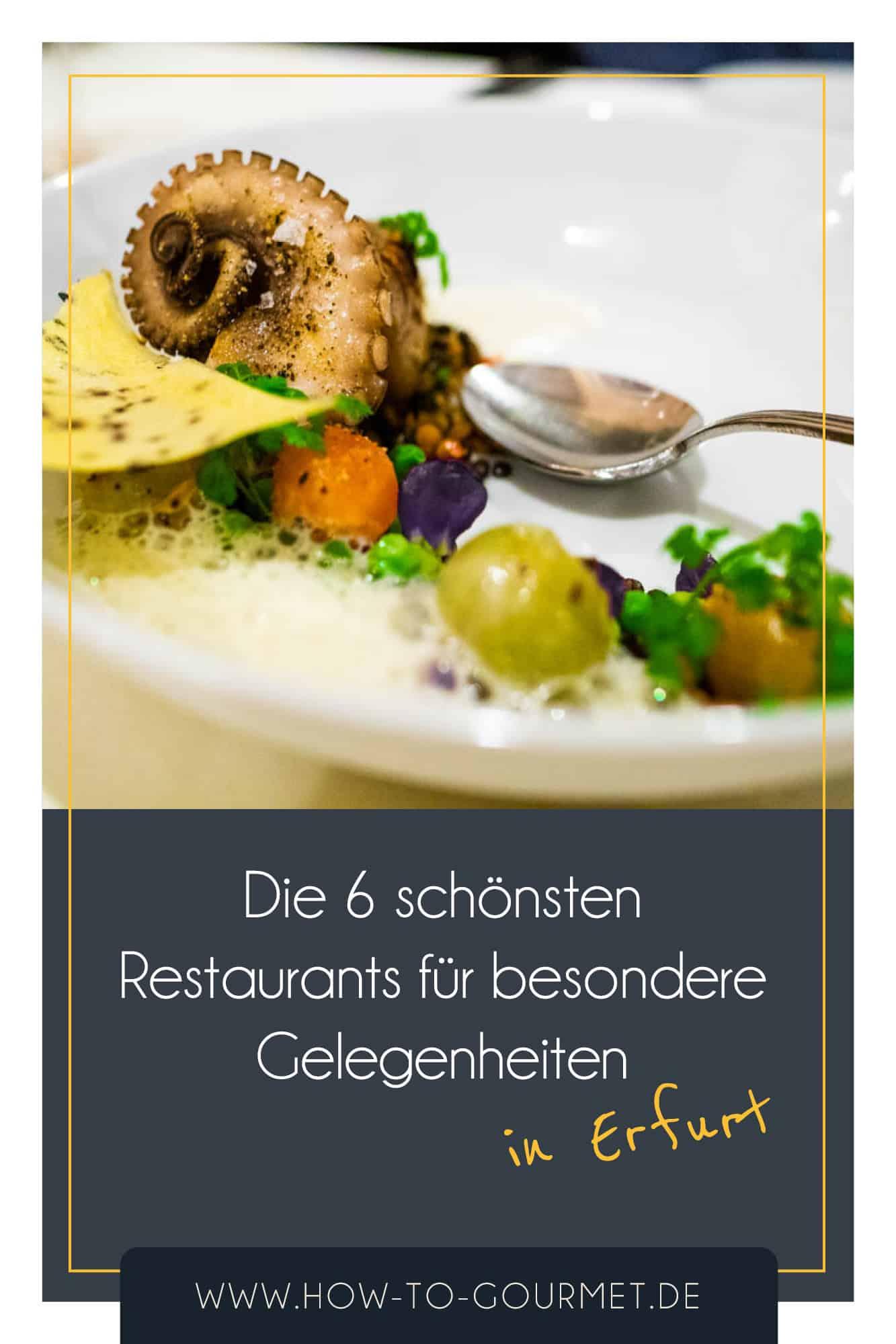 besondere Restaurants in Erfurt