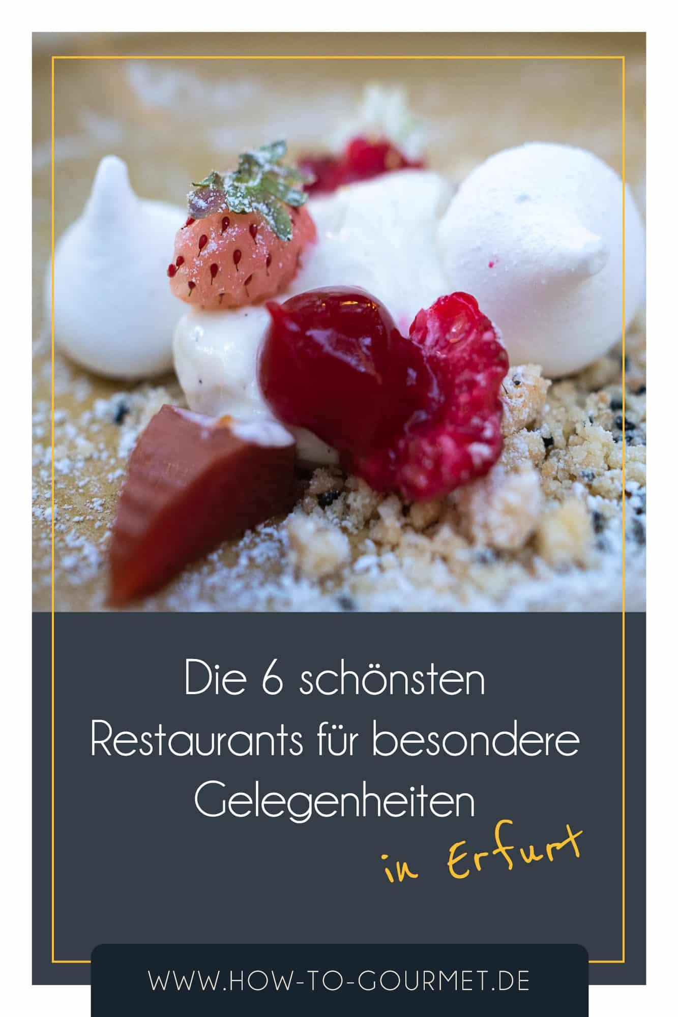 Restaurants für besondere Gelegenheiten in Erfurt