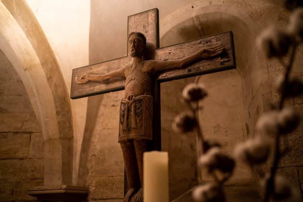 Jesus im Naumburger Dom