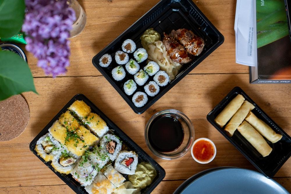 sushi von koko sushi in Erfurt zum mitnehmen