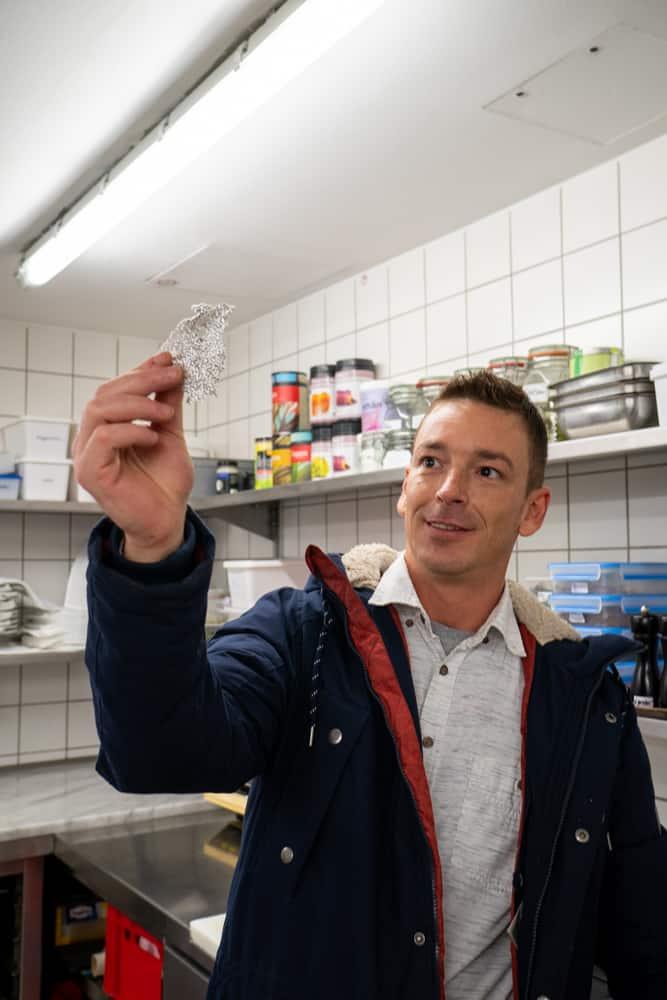 Markus Prinz übernimmt im Oktober 2020 die Postion des Küchenchefs im Restaurant Clara in Erfurt.