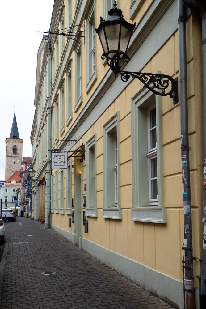 Restaurant Clara am Kaisersaal Erfurt.