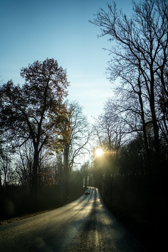 Straße in Thüringen