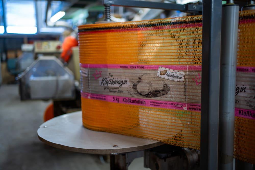 Verpackung Kloßkönigin gute Kartoffeln für Klöße